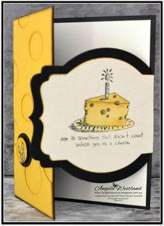 Stampin' Up! Fun Latch Card - Giggles Greetings Stamp Set