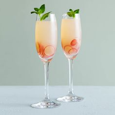 New Year's Sparkling Wine Cocktails