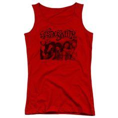 Aerosmith: Old Photo Junior Tank Top