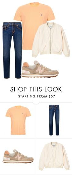 """Untitled #2607"" by styledbycharlieb ❤ liked on Polyvore featuring Paul Smith, True Religion, New Balance and Monki"