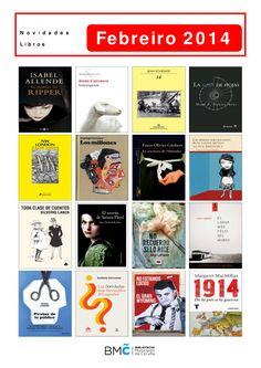 Libros novos na Biblioteca Os Rosales. Para levar en préstamo desde o 1 de febreiro!