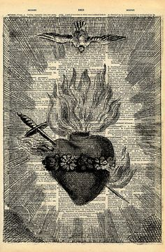 Sacred Heart print