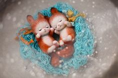 WEBSTA @ nadezhda_micheeva_toys - #белочка #бельчонок #белки #squirrel #red #sleeping #спать #валяние #валяниешерсти #фильцевание #needlework #needlefelting #needlefeltingtoy #felting #feltcraft #feltingtoys #toys #toystory #dolls #design #dollpictures #шерсть #wool  #гнездо #весна #надеждамичеева #love #animal #animals