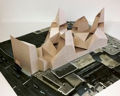 archisketchbook - architecture-sketchbook, a pool of architecture drawings, models and ideas - anne holtrop - two models for embassies -...