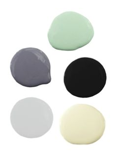 Purple, Black, Green Color Scheme  For my new house!!