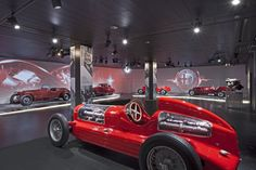 The project for the renovation and new exhibition installations of the Alfa Romeo Museum of Arese, by Camerana&Partners, is an outstanding case history for Iris Ceramica Group. Renovation and new exhibition installations: Camerana&Partners Location: Arese (MI), Italy Images courtesy of Museo Alfa Romeo
