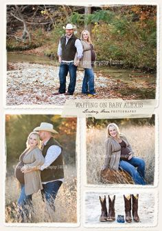western maternity photo ideas - Google Search