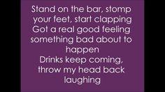 SOMETHIN BAD - Miranda Lambert Ft. Carrie Underwood. (Lyrics on Screen) ...
