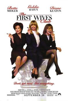 """""""FIRST WIVES CLUB"""" - a magical trio of talent."""