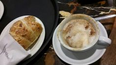 Almond Croissant and Small Cappuccino. I love Italy!