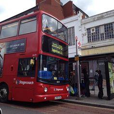 Number 175 bus #Dagenham Heathway 8/4/14 Hanging Gardens, London Transport, Vintage London, Buses, Growing Up, Past, Transportation, England, Number