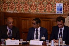Speaking at the Houses of Parliament, London, on our latest mobile learning projects in Africa