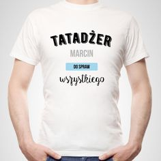 Koszulka personalizowana męska TATADŻER