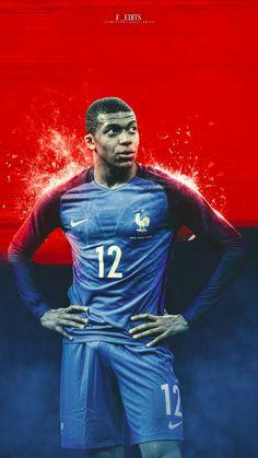 Kylian Mbappé France Football Icon, Football Is Life, Football Soccer, Neymar Jr, Champion Du Monde Foot, Tim Thomas, France Wallpaper, France National, Football Wallpaper
