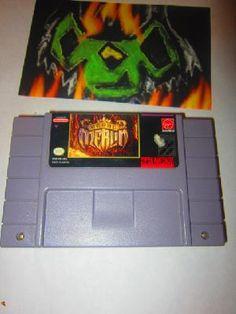Young Merlin (Super Nintendo, 1993) Free Shipping