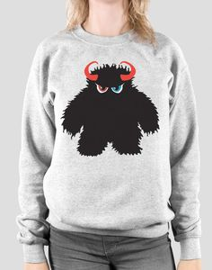 What on earth could be better than our registered trademark Monster slapped on an ultra soft cotton sweater? Nothing! That's what. Wearing one of our soft cotton unhoodies is pretty much like laying in a bed full of puppies. Soft and super cute. Your skin will feel a constant feeling of thousands of puppy kisses.  #monstrousgear #monstrousfamily