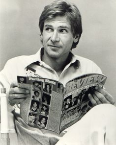 Harrison Ford. Ugh, I STILL fangirl about him. He's just such a badass and a great actor. One of my favorites.
