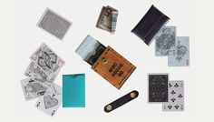 Misc Goods Co — American Curated  Designer begins designing playcards, and turns into a pretty badass, American made, brand: http://www.americancurated.com/#/misc-goods-co/