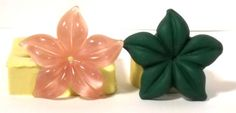 Plumeria FL301  Flexible Silicone Mold  Crafts Jewelry by MoldShop, $9.99