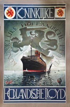 Tiete van der Laars -Koninklijke Hollandsche Lloyd- ca. 1913  EUR 150.00  Meer informatie