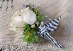 Make your own boutonniere for all the dances, a lot cheaper than buying one from floral shops!