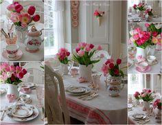 Aiken House & Gardens: Touches of Pink