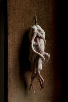 Loneliness / Wax flesh byGhent based sculptor Berlinde de Bruyckere