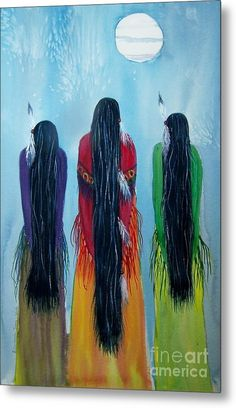 Grandmothers Come Singing Canvas Print / Canvas Art by Elizabeth Webb Native American Paintings, Native American Pictures, Native American Beauty, American Indian Art, Canvas Art, Canvas Prints, Southwest Art, Indigenous Art, Aboriginal Art