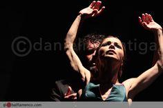 Olga Pericet baile el cante de Miguel Ortega en el Festival de Jerez 2015 #flamenco #dance