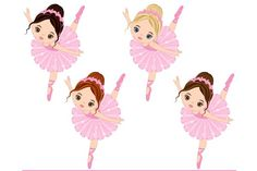 Vector Ballerina, Vector Ballet by LoveGraphicDesign on Ballerina Barbie, Ballerina Birthday, Ballet Illustration, Graphic Illustration, Eps Vector, Vector File, Mermaid Clipart, Baby Hair Bows, Creatures