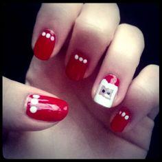 #20... Santa nails