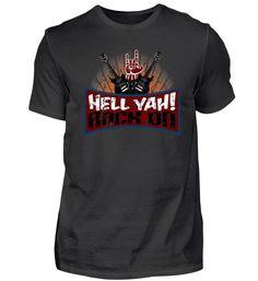 Hell Yah! Rock on T-Shirt Rock T Shirts, Mens Tops, Fashion, Cotton, Moda, Fashion Styles, Fashion Illustrations
