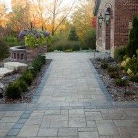 Front Yard Curb Appeal in Bloomington, MN #LandscapeDesign #LandscapingDesign #Minnesota #CurbAppeal #Paver