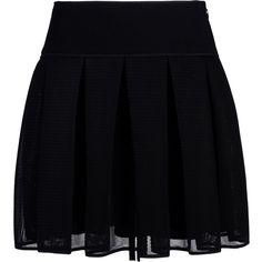 Dkny Knee Length Skirt ($82) ❤ liked on Polyvore featuring skirts, bottoms, saias, faldas, black, knee high skirts, dkny skirts, dkny, knee length skirts and zipper skirt