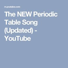 Asapscience youtube youtubes for t pinterest mitchell moffit the new periodic table song updated youtube urtaz Gallery