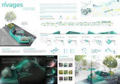 Collectif Escargo & Zaraté + Lavinge architectes (2016): rivages, La Promenade Fleury, Montréal (CA), via competitionline.com