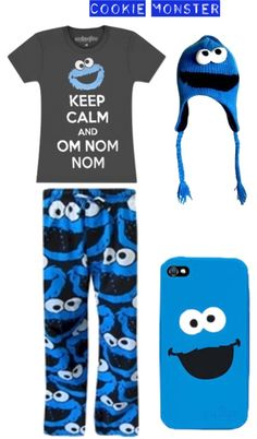 """""""Cookie Monster :D"""" by rnhuntoon on Polyvore"""
