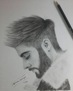zain malik portrait by taha alzorgani    #zain #zain_malik #portrait #art #pencil #draw #كلنا_رسامين