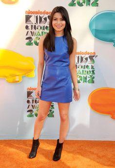 Miranda Cosgrove at the Kid's Choice Awards 2012