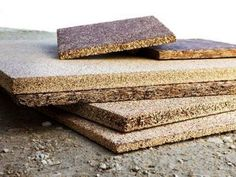 Affordable building materials from recycled agricultural waste