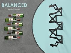 The Balanced by Lente label, is the ultimate wine rack based on balance that every wine lover will like.