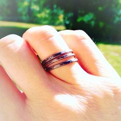 Excited to share the latest addition to my #etsy shop: Copper Stacking Rings - Copper Multi Rings - Copper Ring Set - Rustic Rings - Stackable Boho Rings - Viking Jewelry http://etsy.me/2AIx5uS