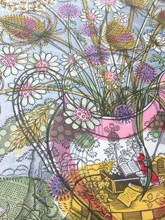 Angie Lewin 'The Gardener's Arms' linocut (detail) Lino Prints, Art Prints, Angie Lewin, Illustration Art, Illustrations, Lino Cuts, Landscape Prints, Wood Engraving, Amazing Art