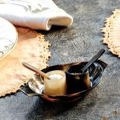 LOVE! Bunny Williams Horn Salt & Pepper Set