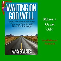 Happy Cyber Monday! Stay tuned for announcements throughout the day! Blessings! http://www.amazon.com/Waiting-God-Well-Breaking-Breakthrough/dp/1505894573/ref=sr_1_1?ie=UTF8&qid=1431461067&sr=8-1&keywords=Waiting+on+God+Well