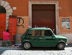 Mini. If it was practical to drive in an old one all the time, I would. Love...