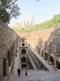 El Agrasen ki Baoli en Nueva Delhi -