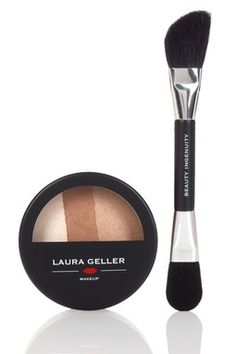 Baked Sculpting Bronzer - Regular/Tan by Laura Geller on Beauty Makeup, Eye Makeup, Hair Makeup, Hair Beauty, Beauty Stuff, The Face, Thick Eyeliner, Best Face Products, Beauty Products