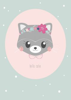 Petite Louise 'Kaart Hello Cutie'