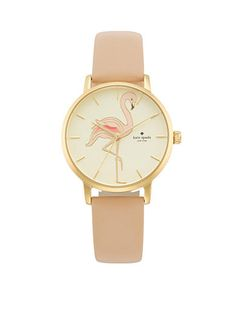 kate spade new york® Women's Flamingo Silicone Rumsey Three-H